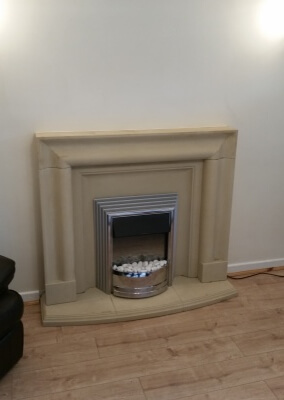 Dimplex Electric Fire With Stone Suite - Wordsley, Stourbridge.