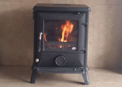 Aga Little Wenlock Multifuel/Woodburning Stove - Coseley, Sedgley.