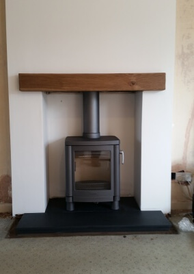 Contura 51L Multifuel Stove With Italian Slate Hearth - Wollaston, Stourbridge.