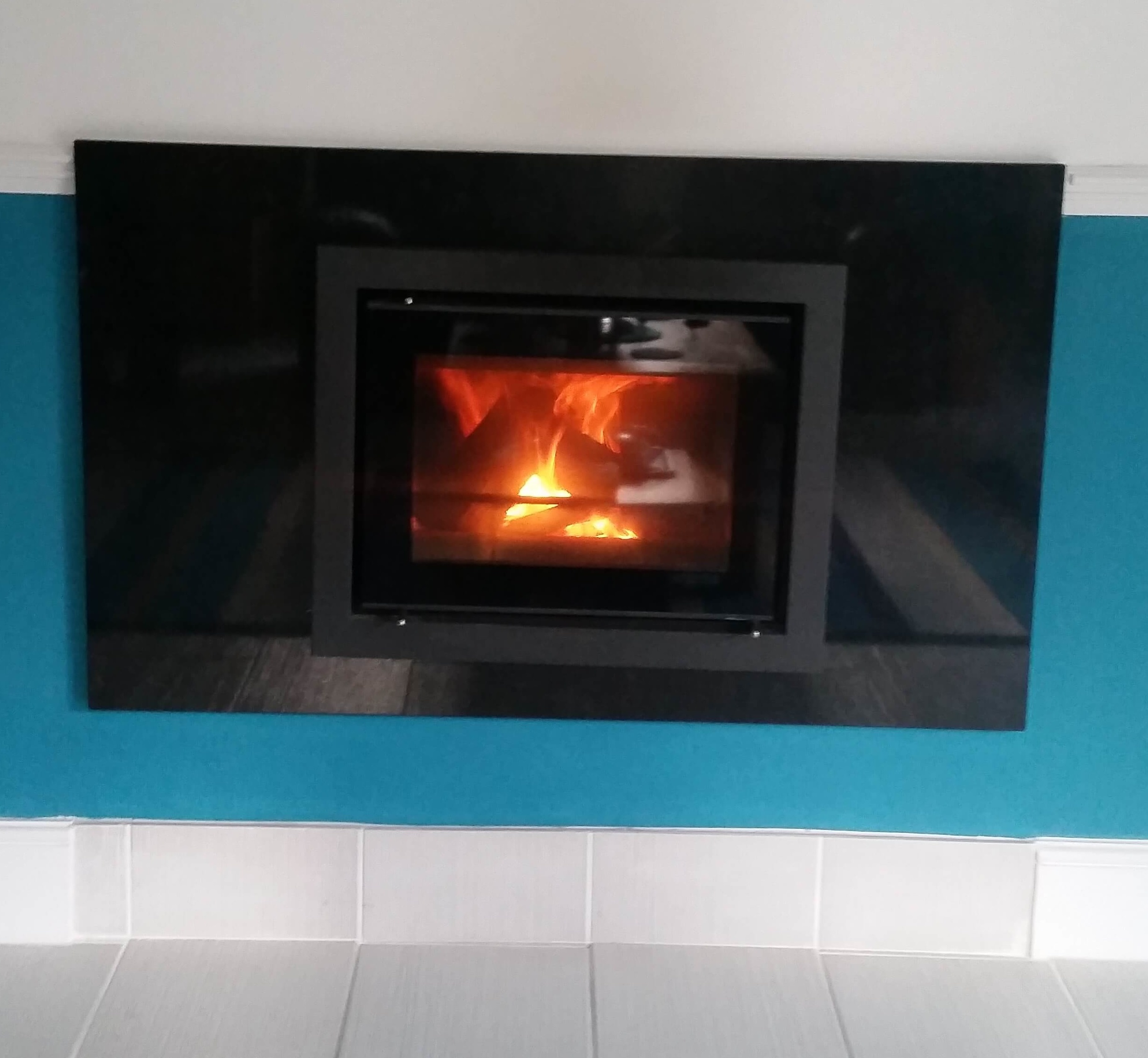 Gazco Riva Inset Multifuel and Woodburning Stove - Enville, Staffordshire