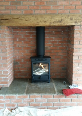 Fireline fx5w Woodburning and Multifuel Stove - Kiddiminster, West Midlands.
