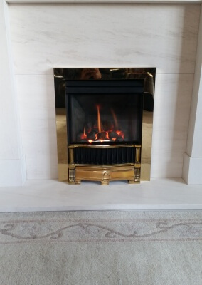 Gazco Logic High Efficiency Gas Fire - Wordsley, Stourbridge.