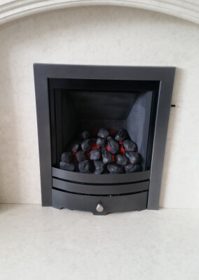 Paragon 2000 Slide Control Gas Fire - Rugeley, Staffordshire.