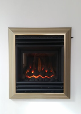Valor Harmony Champagne, High Efficiency Gas Fire - Wollaston, Stourbridge.