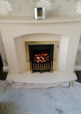 Legend Vantage Slide Control Gas Fire - Sedgley, Wolverhampton.