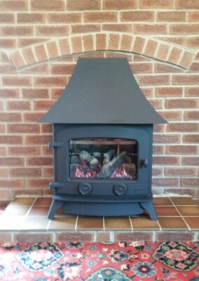 Yeoman Dartmoor Gas Fire Stove - Rugeley, Cannock Chase, Staffordshire.