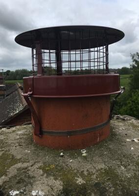 Chimney Sweep & New Bird Guard - Stourton, Stourbridge.