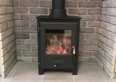 Fitting of a OER Gas Stove - Brierley hill, Dudley