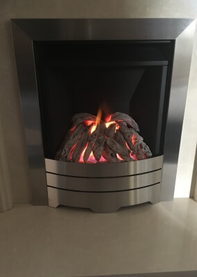 Legend Spirit Gas Fire With Log Effect Coals - Quarry Bank, Brierley Hill West Midlands