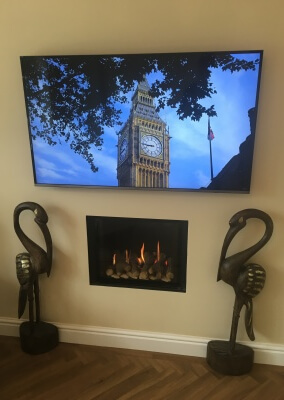 Charlton & Jenrick P4 High Efficency Gas Fire - Staffordshire