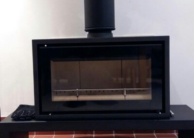 Stovax Riva Studio Freestanding Woodburning Stove With Bench - Stourbridge, West Midlands