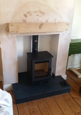 Heta 45 Multifuel Stove Installation & Chimney Lining - Wollaston, Stourbridge.