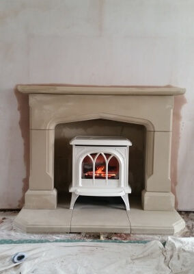 Gazco Huntingdon 30 Gas Fire Stove With Remote Control - Kingswinford, Dudley.