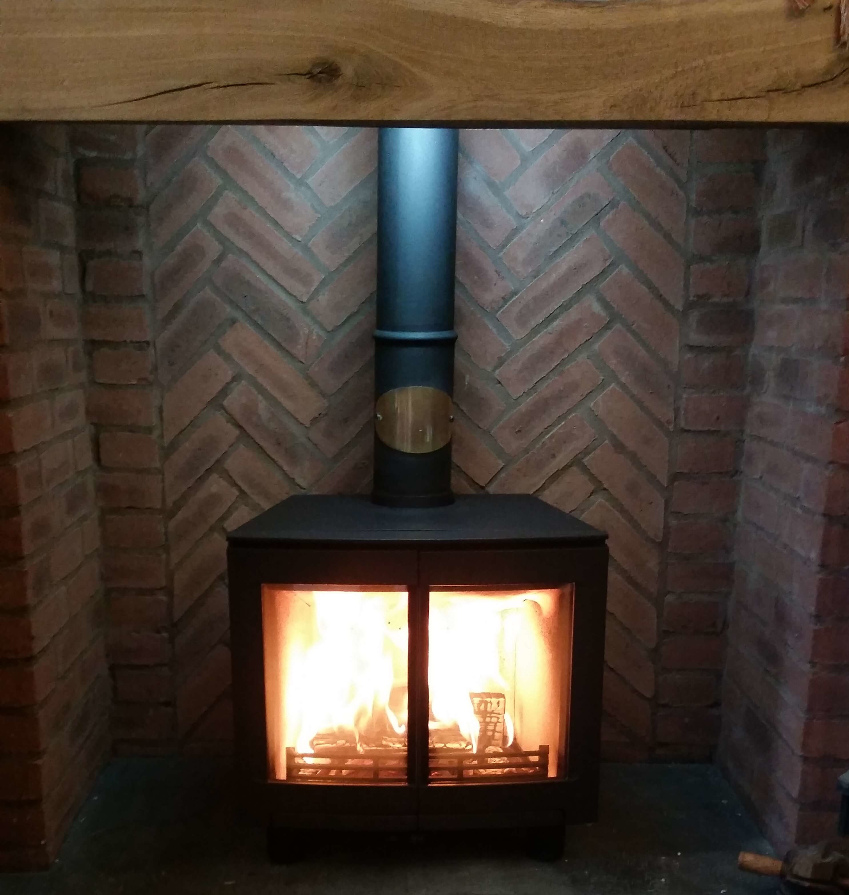 Contura Multifuel Stove Installation & Chimney Liner Installation - Wollaston, Stourbridge.
