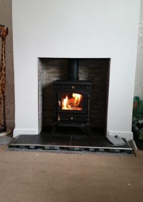 Multifuel,Woodburning stove Installation - Tipton, Dudley.