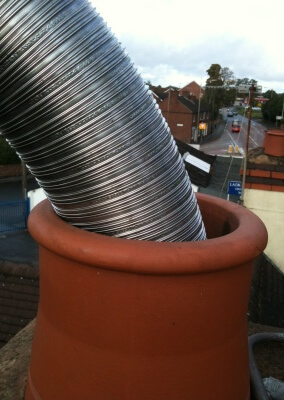 316 Graded Liner With New Chimney Pot