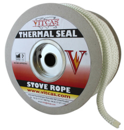 6mm Flue/Door Fire Rope Seal With 30ml Of Glue