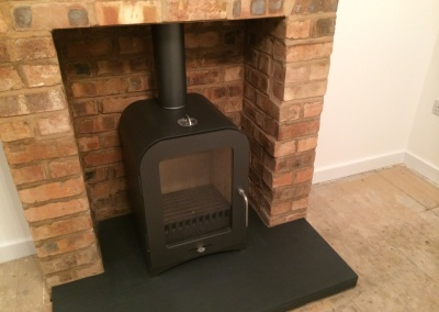 Vespa Multifuel Stove Installation & Chimney Lining - Oldswinford, Stourbridge.
